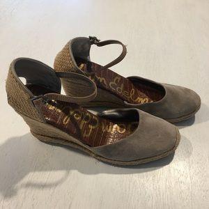 Sam Edelman Harmony Espadrille Wedge Sandal Shoes